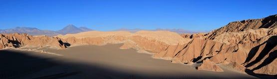 瓦尔de la月/月球,月亮的谷,阿塔卡马沙漠智利 库存照片