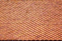 瓦屋顶,样式 免版税库存照片