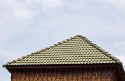瓦屋顶 图库摄影
