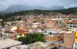 瓦拉斯,秘鲁 库存图片