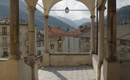 瓦拉洛,山麓,意大利 免版税库存照片