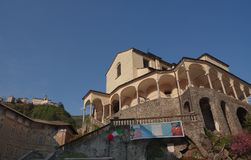 瓦拉洛,山麓,意大利 库存图片