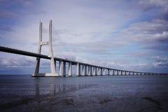 瓦斯科・达伽马桥梁 免版税库存图片