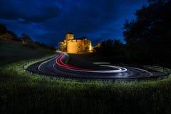 瓦杜兹城堡在利希滕斯泰因 库存照片