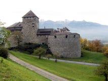 瓦杜兹城堡 免版税库存图片