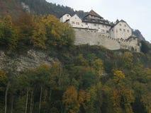 瓦杜兹城堡 库存照片