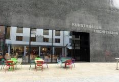 瓦杜兹,列支敦士登- 2017年6月02日:艺术博物馆Kunstmuse 免版税图库摄影