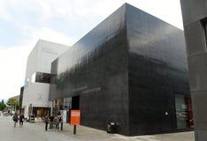 瓦杜兹,列支敦士登- 2017年6月02日:艺术博物馆Kunstmuse 免版税库存照片