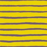瓦片传染媒介样式有黄色和紫罗兰色条纹背景 库存例证