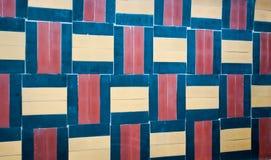 瓦片墙壁纹理 库存照片