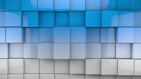 瓦片立方体背景 股票录像