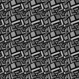 瓦片长方形样式 免版税库存图片