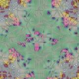瓦片,陶瓷马赛克几何抽象样式 皇族释放例证