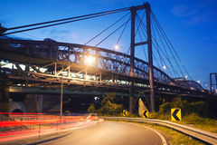 瓦特泰勒桥梁 免版税库存图片