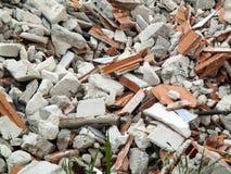 瓦砾堆  免版税库存图片