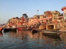 瓦腊纳西印度 库存图片