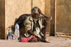 瓦腊纳西,印度。 免版税库存图片