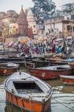 瓦腊纳西,印度2017年10月12日 库存图片