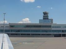 瓦茨拉夫Havel机场在布拉格 免版税库存图片