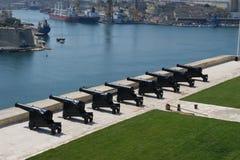 瓦莱塔港口马耳他。 图库摄影