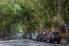 瓦莱塔街道在马耳他 库存照片