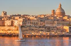 瓦莱塔,马耳他 库存图片