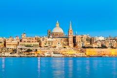 瓦莱塔,马耳他 免版税库存照片