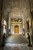 瓦莱塔,马耳他2015年10月31日:高段棋手的宫殿 免版税图库摄影