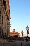 瓦莱塔,马耳他, auberge de castille,总理的位子 库存照片