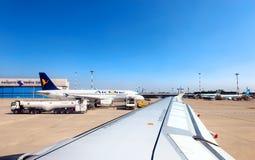 瓦莱里奥Catullo机场-维罗纳意大利 库存图片