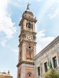 瓦雷泽,意大利圣维托雷大教堂钟楼  图库摄影