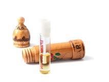 瓶保加利亚人香水 免版税库存图片