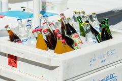 瓶冰 免版税库存照片