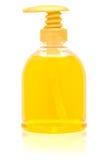 瓶分配器液体肥皂 免版税库存图片