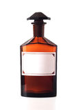 瓶化学制品葡萄酒 免版税库存图片