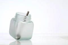 瓶匙子 免版税图库摄影