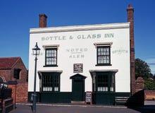 瓶和玻璃旅馆,达德利 免版税库存图片