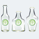 瓶回收 向量例证