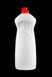 瓶塑料白色 免版税图库摄影