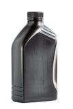 瓶塑料重新使用的1公升 库存图片