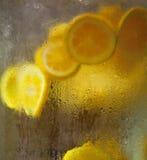 瓶子柠檬 免版税库存照片