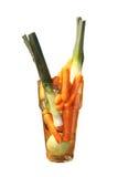 瓶子蔬菜 库存照片