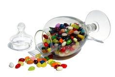 瓶子豆形软糖 库存图片