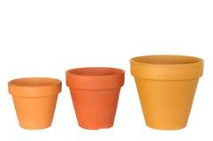 瓶子赤土陶器 免版税库存图片