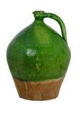 瓶子赤土陶器 免版税库存照片