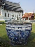 瓶子雕象泰国 库存照片