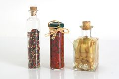 瓶子香料 图库摄影