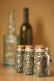 瓶子香料 免版税库存照片