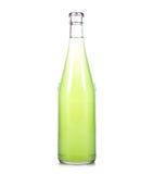瓶新鲜的柠檬水 免版税图库摄影