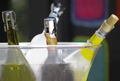 瓶时段酒 免版税库存图片